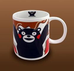【KUMAMON 酷MA萌】NO53熊本熊馬克杯(巧克力牛奶款)