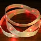 LiTex LED寬版緞帶15mm-紅燈系列-中間燈 1