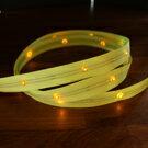 LiTex LED寬版緞帶15mm-黃燈系列-中間燈 0