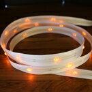 LiTex LED寬版緞帶15mm-黃燈系列-中間燈 2