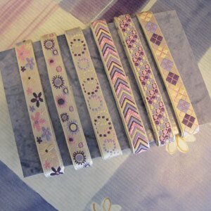 【Crystal Rose緞帶專賣店】新藝術緹花組  七 0