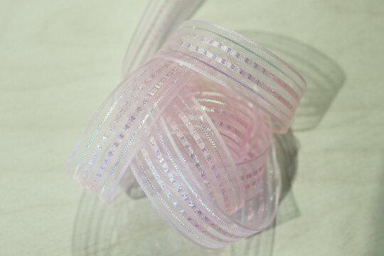 網帶雙排珍珠片蔥20mm(五色) 1