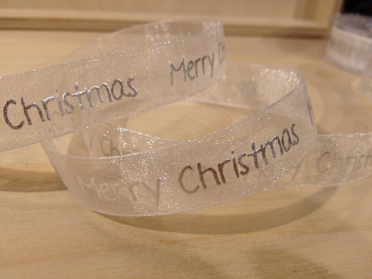 聖誕緞帶Merry Christmas(4色) 1