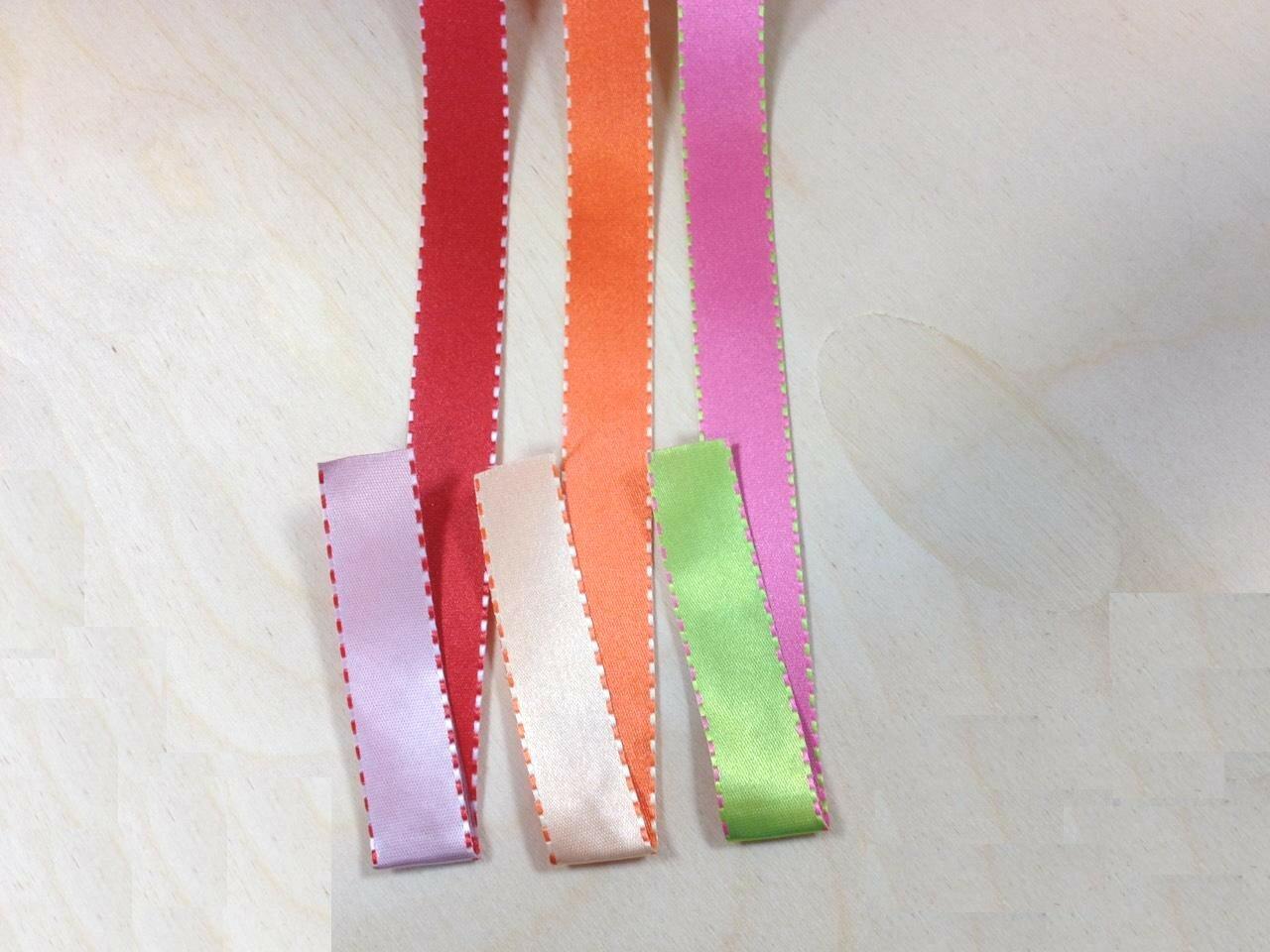 雙面柔緞 緞帶盒裝 1