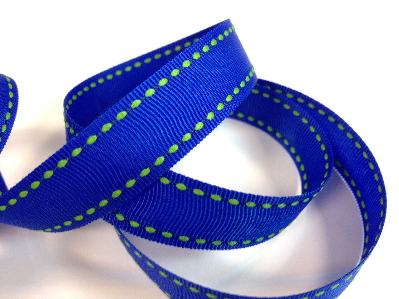 【Crystal Rose緞帶專賣店】橫紋縫線帶-10mm(九色)