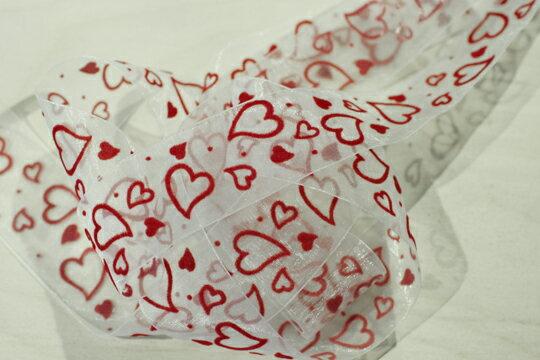 【Crystal Rose緞帶專賣店】情人滿天絨心 1