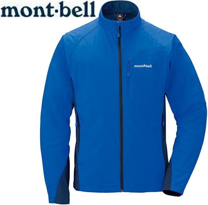 Mont-Bell 風衣外套/登山外套 防潑水保暖防風 Light Shell 男款 1106557 皇家藍RBL