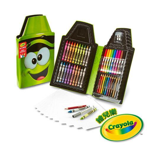 《美國Crayola繪兒樂》蠟筆娃娃禮盒組-搞笑青