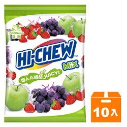 森永 嗨啾 水果軟糖袋裝(綜合-葡萄/草莓/青蘋果) 130g (10入)/箱