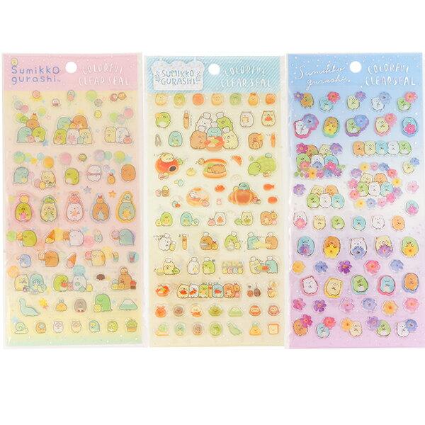 【角落生物立體貼紙】角落生物 立體貼紙 貼紙 透明 正品 該該貝比  ☆
