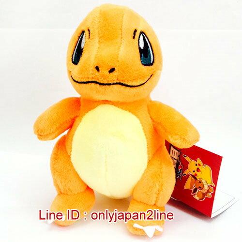 【真愛日本】16121700003吊娃-5吋小火龍   神奇寶貝 Pokemon  鎖圈  吊飾