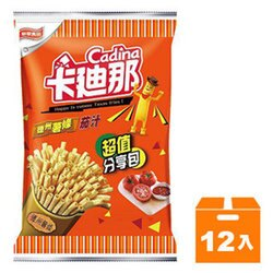 聯華 卡迪那 德州薯條茄汁 155g (12入)/箱