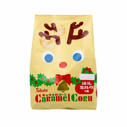 J-東鳩聖誕焦糖玉米脆果白巧克力77g【愛買】