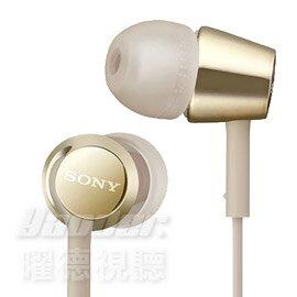 ~曜德~SONY MDR~EX155 金色 細膩金屬 耳道式耳機 ~   ~ 送收納盒 ~