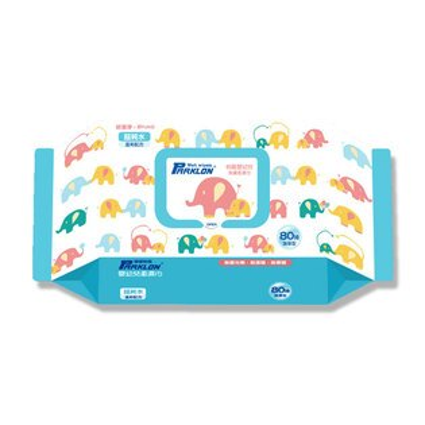 韓國帕龍Parklon嬰幼兒柔濕巾(加厚款)80抽包嬰幼兒柔濕巾加厚柔濕巾抽取式【特價】異國精品