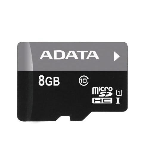 【新風尚潮流】威剛記憶卡 8GB microSDHC UHS-I U1 C10 AUSDH8GUICL10-RA1