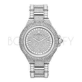 MK5869 MICHAEL KORS 精鋼間鑽錶帶 中性手錶 腕錶