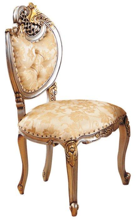~尚品傢俱~JF~987~3 羅登法式香檳色餐椅