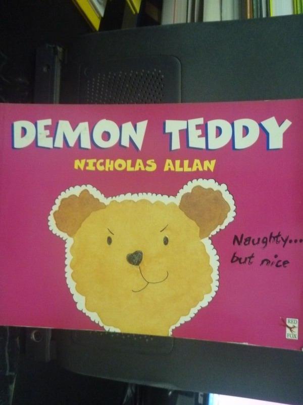 【書寶二手書T4/少年童書_ZBO】Demon Teddy_Allan, Nicholas