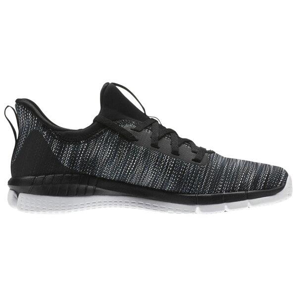REEBOKPRINTHER2.0BLND女鞋慢跑訓練有氧健身編織緩衝耐磨舒適黑【運動世界】CN1035