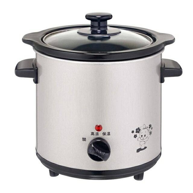 淘禮網     ※加贈#316不鏽鋼三件式餐具組  SE-3050-D 鍋寶3.5公升養生陶瓷電燉鍋