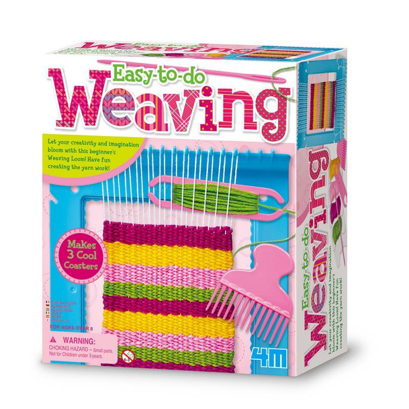 【 4M美勞創作 】創意編織機 Weaving Loom