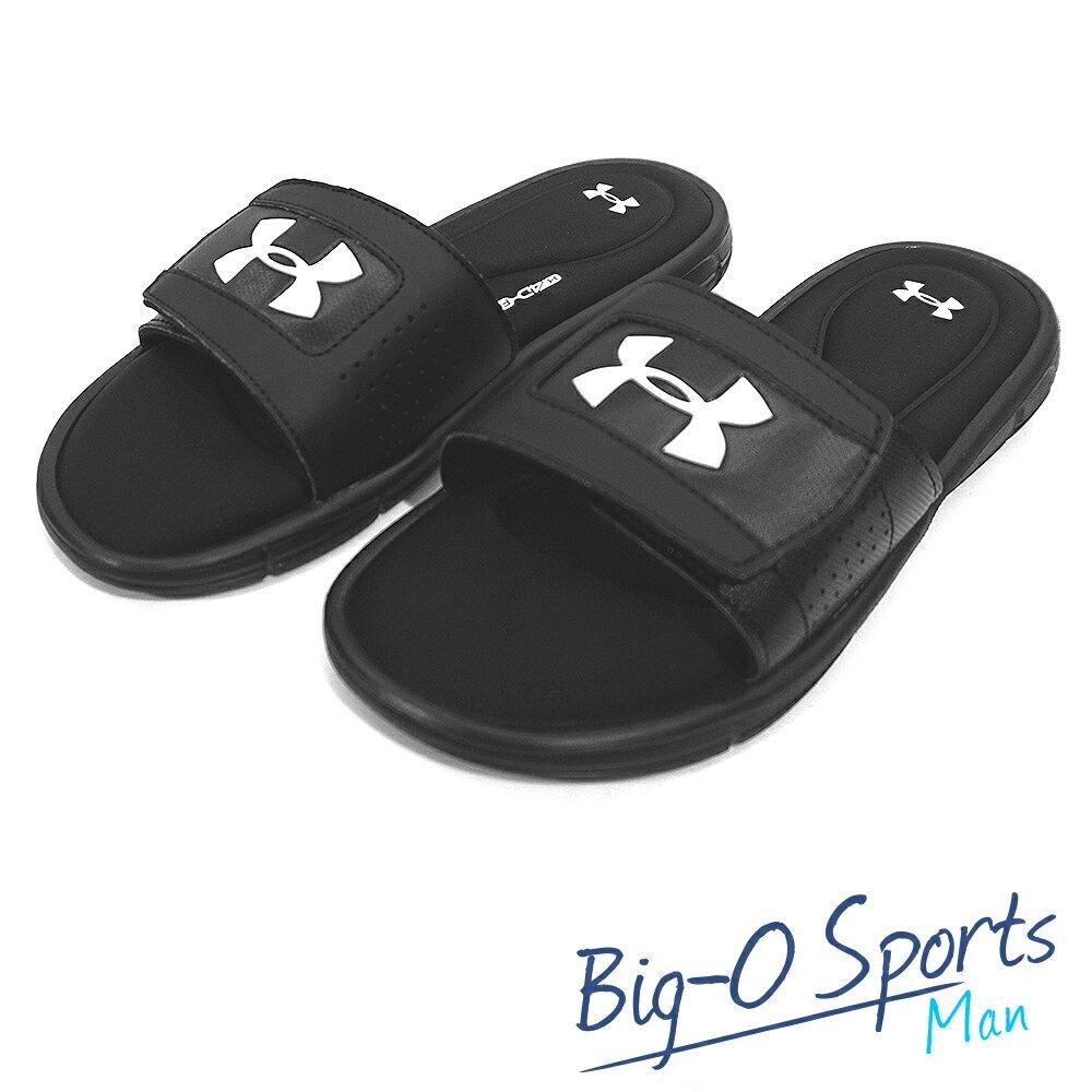 2017新品 UA Under Armour 男子UA Ignite V Slides拖鞋 運動拖鞋 男 1287318-001 Big-O Sports