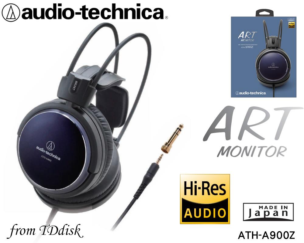 志達電子 ATH-A900Z 日本鐵三角 Audio-Technica Art Monitor 頭戴式耳罩耳機 台灣鐵三角公司貨
