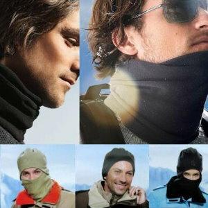 美麗大街【ML106082412】騎行頭罩冬季自行車口罩運動保暖防塵防風防寒護臉【全面罩】