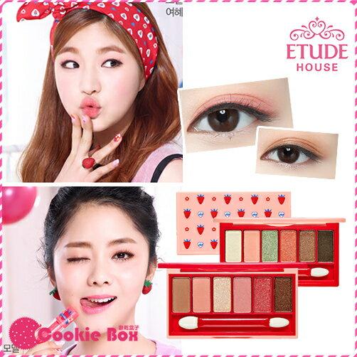 韓國 Etude House 莓好時光~奇幻 多效 眼彩盤 眼影盤 眼影盒 自然 附刷 4.1g *餅乾盒子*