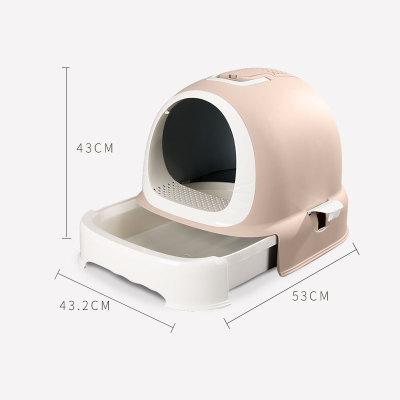 新款~貓砂屋貓砂盆太空艙