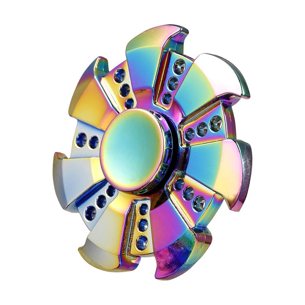 Multi-Color Metal Hand Spinner Fidget Spinner 0
