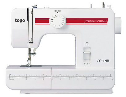 TOYO 電動裁縫機 縫紉機 JY-1NR [代購]