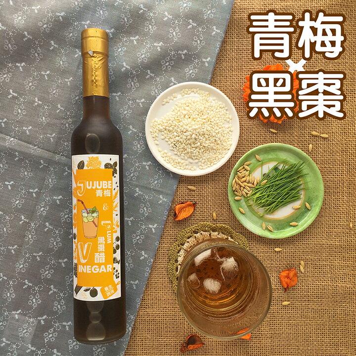【送禮首選】青梅黑棗醋380ML /  健康果醋 /  促進新陳代謝 /  天然釀造 0