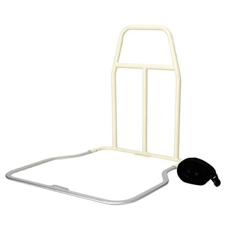 現貨-老年人老人床邊扶手起身器病床起床助力架防摔免安裝床上護欄欄桿床欄-