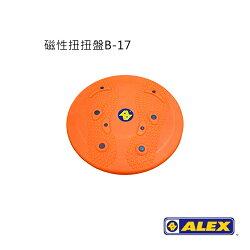 ALEX 磁性扭扭盤B-17/城市綠洲(美腰.圓盤.瘦身.美體.25CM)