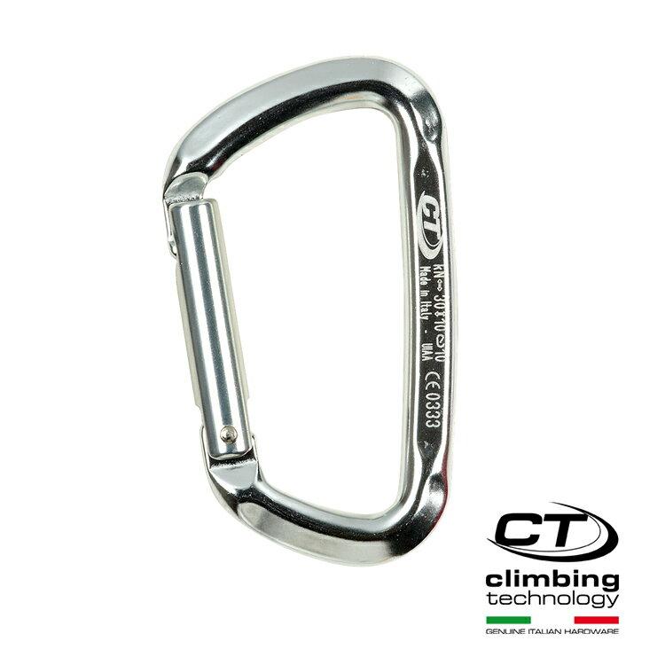 D型鋁合金鉤環2C44800 Climbing Technology/城市綠洲(攀岩鉤環、義大利製造、鋁合金)