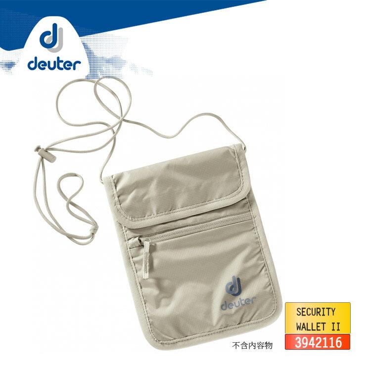 deuter 隱藏式頸掛小錢包3942116 / 城市綠洲(出國旅行 .貼身收納袋)