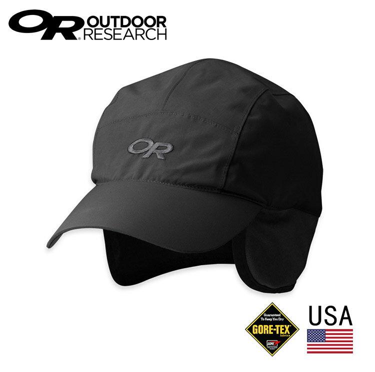 【美國 Outdoor Research】 OR243500 GTX防水透氣保暖鴨舌護耳帽/ 城市綠洲 (GORE-TEX.防風.透氣.保暖)
