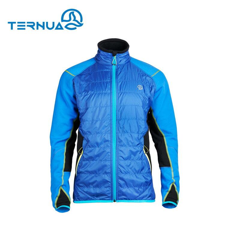 【西班牙TERNUA】男Polartec Alpha 保暖外套1642659 / 城市綠洲(透氣、輕量、防風防水、滑雪、SUNLIGHT)