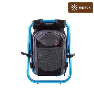 日本ispack 繽紛流行背包椅 繽紛流行背包椅IS-R4B /城市綠洲