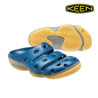 KEEN 一體成型拖鞋Yogui 1014814《男款》/ 城市綠洲 (水陸兩用,輕量,戶外休閒鞋,運動涼鞋)