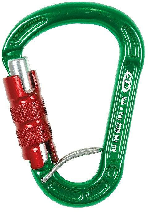 CT 超輕水滴型鋁合金有鎖鉤環2C3390L /城市綠洲 (攀岩、安全、內扣、義大利、Climbing Technology)