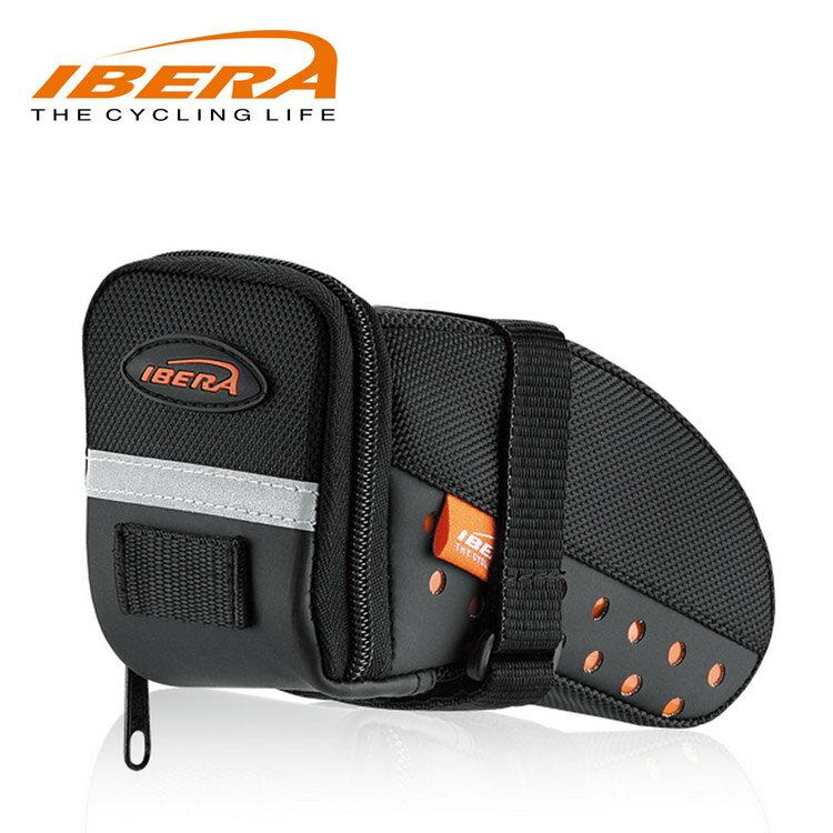 IBERA 跑車座墊袋S IB-SB11 / 城市綠洲(台灣製造.輕量化.自行車.腳踏車.反光.防潑水)