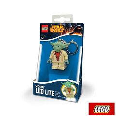 LEGO 星LEGO尤達鑰匙圈LGL-KE11/城市綠洲(鑰匙圈、樂高、遊戲、LED照明燈)