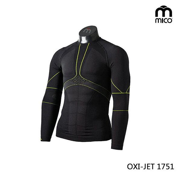 MICO男OXI-JET圓領肌肉衣1751城市綠洲(肌肉壓縮、鐵人三項、運動衣、三鐵衣)