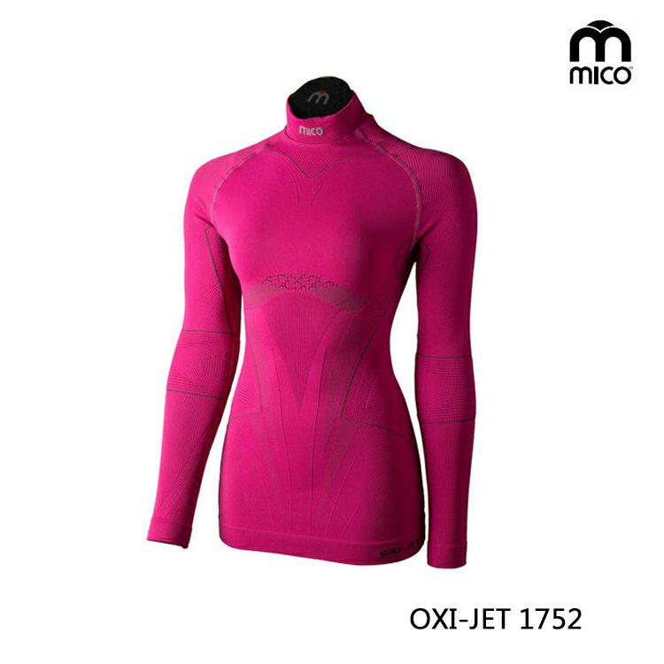 MICO 女OXI-JET高領肌肉衣1752/城市綠洲專賣(三鐵衣.瘋三鐵.運動衣.鐵人三項)