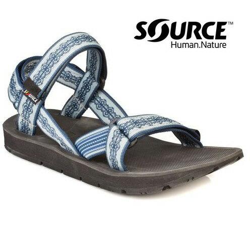 【Source】《男款》越野運動涼鞋Stream 10102191/織帶+一體成型+輕量+快乾+抑菌
