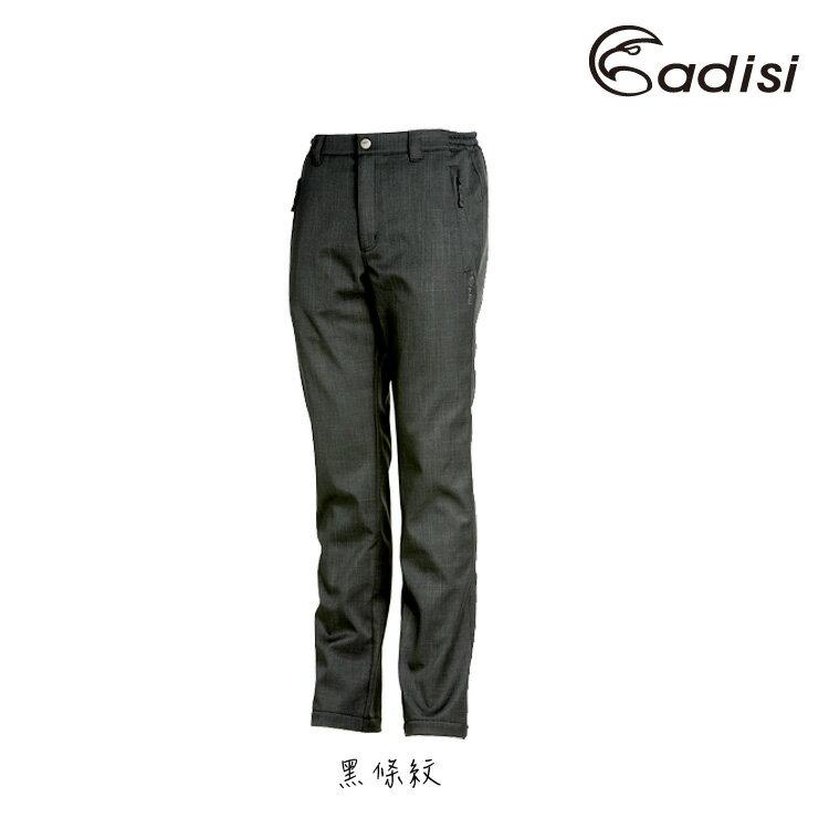 ADISI 男Softshell條紋保暖長褲AP1421042  S~3XL    城市綠