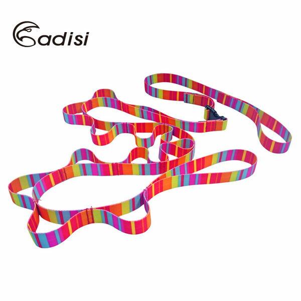 ADISI 彩虹插扣型調整掛物繩帶 AS15073 / 城市綠洲(多功能掛勾、掛繩、曬衣繩、登山露營用品)